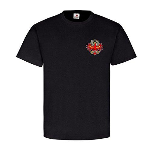 Südtirol dem Land die Treue Wappen Emblem Abzeichen Adler Flagge Fahne Italien - T Shirt Herren S #5325 (Land-flaggen-t-shirt)