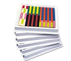 Learning resources cuisenaire rods multi pack plastic - Fourniture de bureau livraison gratuite ...