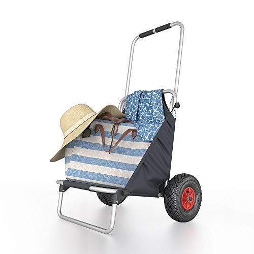 OSKAR Strandwagen Strandbuggy Beachbuggy Bollerwagen Handwagen klappbar