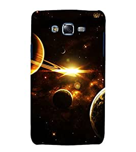 printtech Nature Solar System Planets Back Case Cover for Samsung Galaxy A5 / Samsung Galaxy A5 A500F