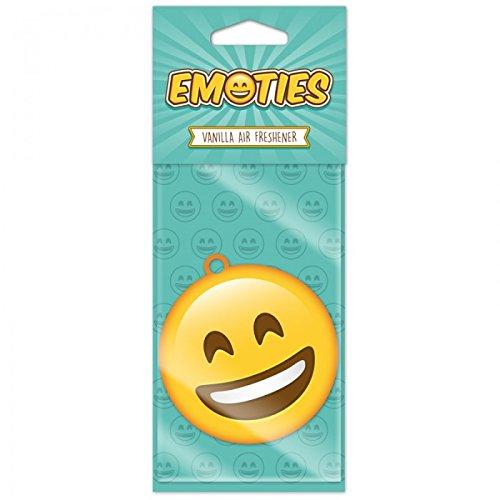 STOCK 3 PEZZI Deodorante Auto Emoji Emoticon sorridente al gusto di V