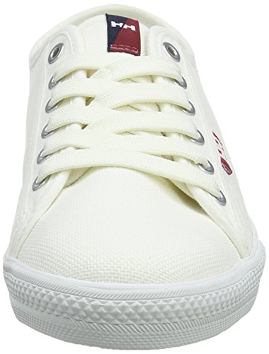 Helly Hansen Fjord Canvas, Chaussures de Fitness Homme Ivoire (Off White/ Plum/ Evening Blue)