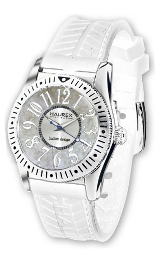 Haurex Italy 1D331DWM Womens Promise White Dial Watch
