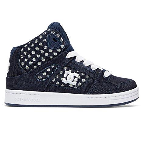 DC Shoes Rebound TX SE - High-Top Shoes for Girls - High Top Schuhe - Mädchen (Dc-schuhe Für Kids High-tops)