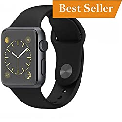 This Bluetooth Smart Watch Phone With Apps like Facebook and WhatsApp Touch Screen Multilanguage Android/IOS Mobile Phone Wrist Watch Phone with activity trackers and fitness band features compatible with Samsung iPhone HTC Moto Intex Vivo Mi-One Plu...