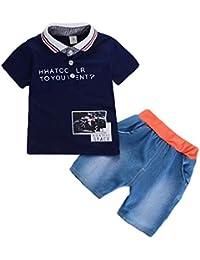 BNWT PAW Patrol t-shirt Outfit cotton boys tshirt top 3//4 denim pants 2pc set