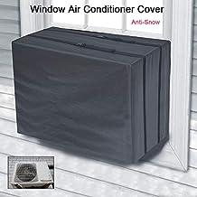 STRIR Funda para Aire Acondicionado, Cubierta Exterior Protectora Antirresbaladiza Anti-Nieve Impermeable del Aire
