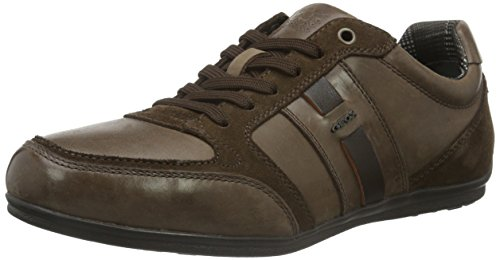 Geox Herren U Houston A Low-Top Braun (DK BROWNC6006)