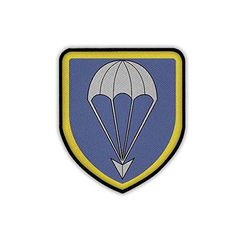 Patch / Aufnäher - LLBrig 27 Logo Abzeichen Wappen Luftlandebrigade Fallschirmjäger Luftlande Brigarde Bundeswehr Lippstadt Uniform #19006 -