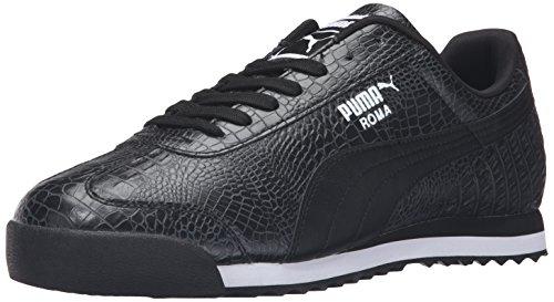 Puma Herren Roma Texture Schuhe Puma Black/Dark Shadow