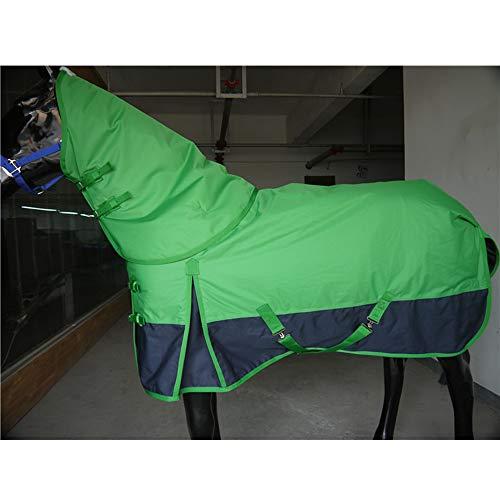LOVEPET Herbst Und Winter Pferdedecke Abnehmbar 600D Super Starkes Reißfestes Oxford-Tuch Wasserdicht Und Atmungsaktiv 230G Dicke Baumwolle Warm Und Gemütlich