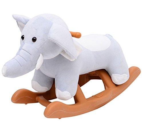 Homcom Jouet à bascule cheval à bascule modèle éléphant 61L x 31l...