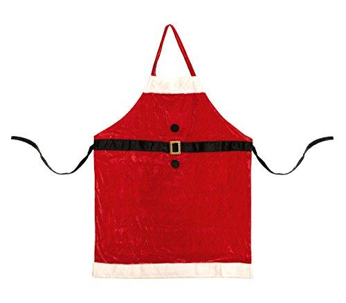 Grembiule natalizio 142246 BABBO NATALE perfetta idea regalo taglia unica. MEDIA WAVE store ®