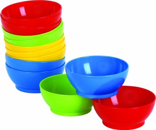 Gowi 105-48 Farbschalen, Küchenspielzeug, 12-er Set