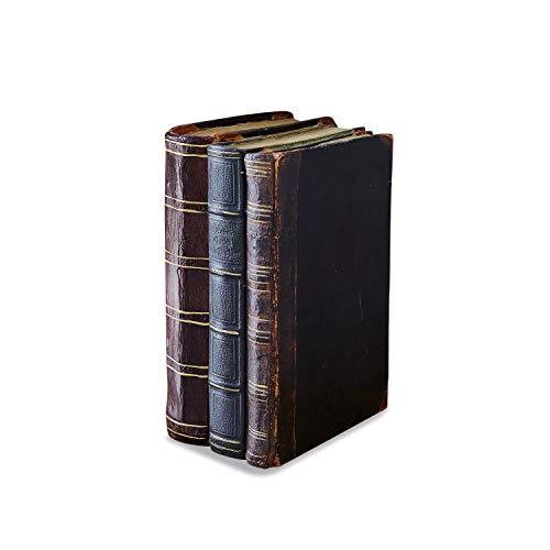 Loberon Deko-Buch Boaz, Polyresin, H/B/T 17,5/12,5/8 cm, braun