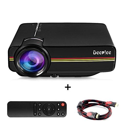 Projecteur, Deeplee DP400 Mini LED LCD...