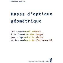 Bases d'optique géométrique : Des instruments ardents à la formation des images pour comprendre la vision et les couleurs de l'arc-en-ciel