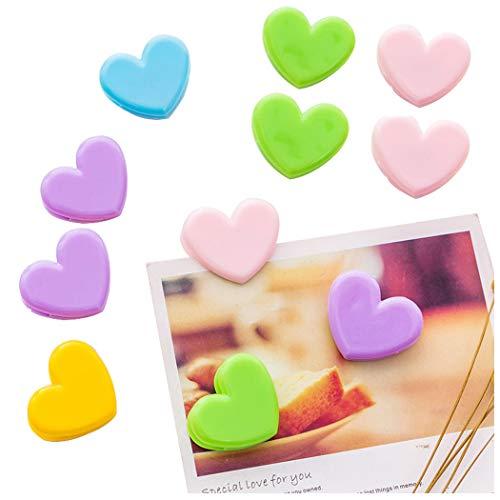 Sipliv 20 paquetes plástico fotos clips foto marco