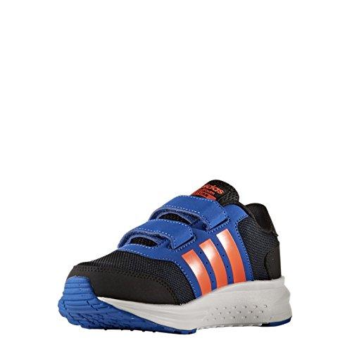 adidas  Cloudfoam Saturn Cmf C, chaussure de sport Unisexe - enfant Nero (Negbas/Rojsol/Azul)