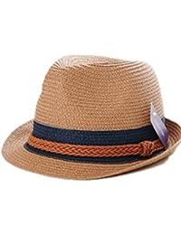 Autek chapeau de plage , chapeau de soleil version coréenne de l'afflux d'hommes et de femmes de l'Angleterre sort bande de couleur chapeau de soleil 607