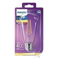 Philips LED Classic ST64 E27 Non-Dim 2700K, 40W