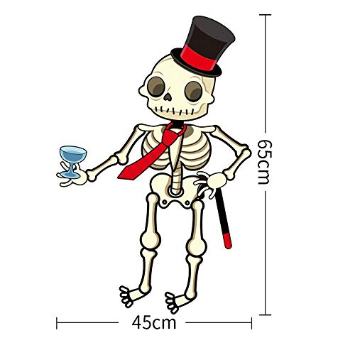 FXCCHEN Halloween Dekoration Eignet Sich Für Bar Kindergarten Klassenzimmer Szene Layout Anhänger, G