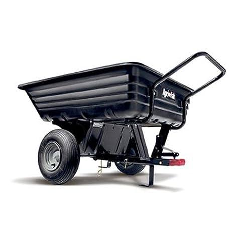 Agri-Fab AG45-0345 350lb Tow/ Push Poly Tipping Cart -