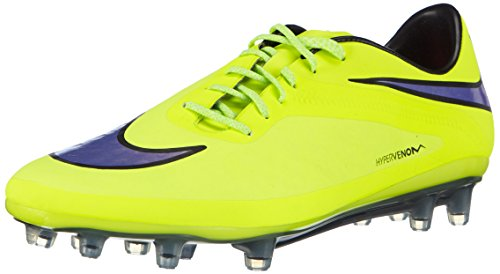 Nike Herren Hypervenom Phatal FG Fußballschuhe, Gelb (Volt/Persian Violet-Ht Lv-Blck 758), 42 EU (Lila Und Weiße Fußball-stollen)