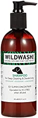 WILDWASH Dog Shampoo for Deep Cleaning and Deodorising (300ml)