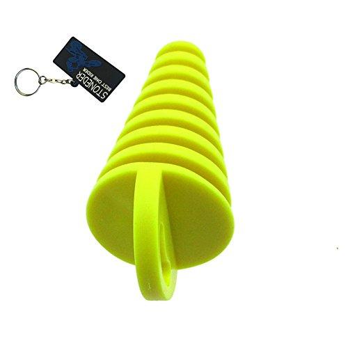 Tapón para tubo de escape STONEDER, de goma suave y resistente, para...
