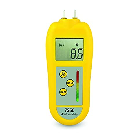 ETI professional 7250 damp/moisture meter for timber & building materials