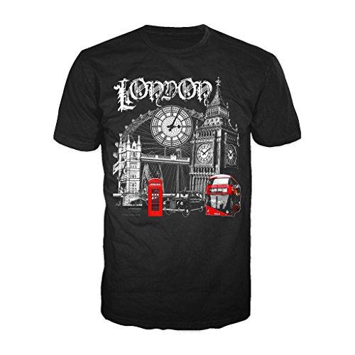 technicolor-londres-angleterre-uk-souvenir-t-shirt-pour-homme-noir-42
