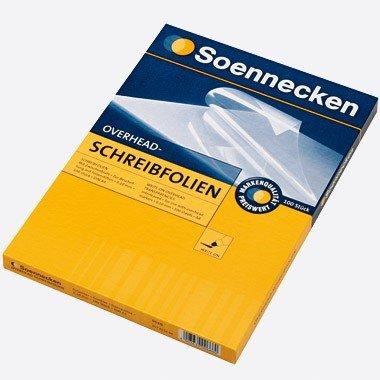 Schreibfolie A4 Soennecken 100Bl.