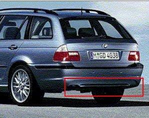 Original BMW M Diffusor für M Heckschürze BMW 3er E46 gebraucht kaufen  Wird an jeden Ort in Deutschland
