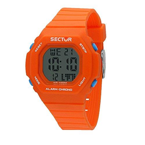 SECTOR Reloj Hombre de Digital con Correa en Silicona R3251599004