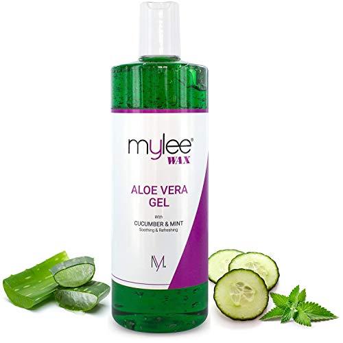 Mylee Pure Aloe Vera beruhigendes Gel Nachsorge Wachsen Haarentfernung Enthaarung Wachs...