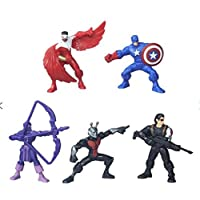 Avengers Captain Tube Figure Assortment (Randomly Supplied) (Color & Style May Vary)