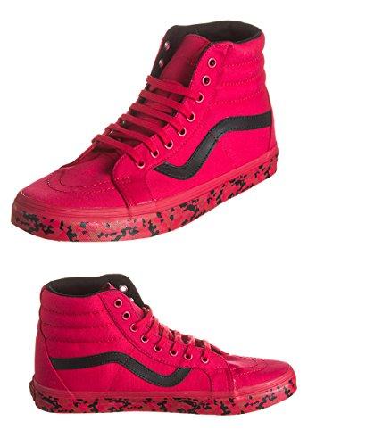 Rot Geo Vans Reissue Sk8 Hi Lauflernschuhe Herren Sneakers Lines 1r4Yxq1