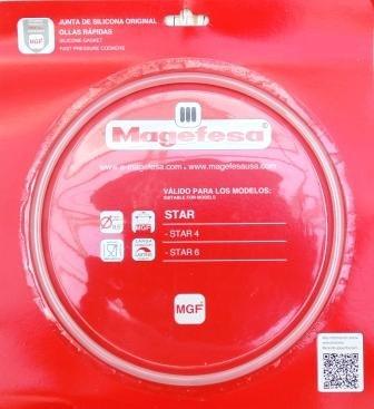 Magefesa 09REME22STC - Junta silicona olla Magefesa Star 4-6 desde 20