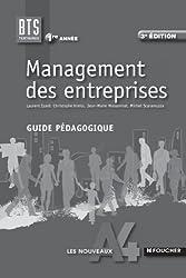 Les Nouveaux A4 Foucher Management des entreprises 1re année BTS Guide pédagogique