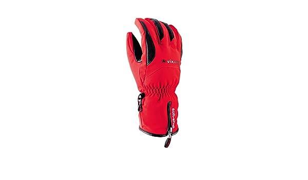 5649b816e60706 Viking Herren Skihandschuhe Soley Atmungsaktiv Ski Handschuhe - Rot, 7:  Amazon.de: Sport & Freizeit