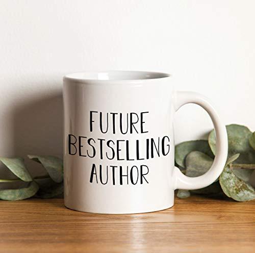 Zukünftiger Bestseller-Autor Kaffeetasse/Kaffeebecher Keramik Arbeit Job Kollege Geschenk Coffee Mug