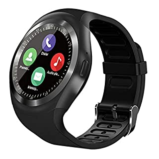 Smart watches with SIM card slot touch screen camera (Gold 2)