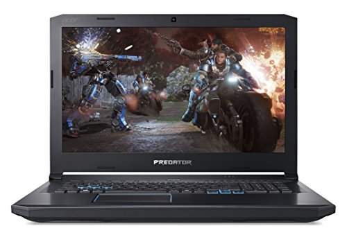 "Acer Predator Helios 500 PH517-51-79E3 Notebook Gaming con Processore Intel Core i7-8750H, Ram 32GB, 256GB+256GB SSD,1 TB HDD, Display 17.3"" FHD IPS LED LCD, NVIDIA GeForce GTX 1070, Windows 10 Home"