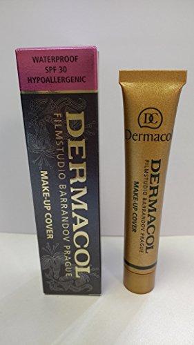 Dermacol MAQUILLAGE COUVERTURE - FOUNDATION HYPOALLERGÉNIQUE, tous les types de peau, (209)