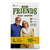 Friends Adult Diaper (Easy) - Large (10 Count)
