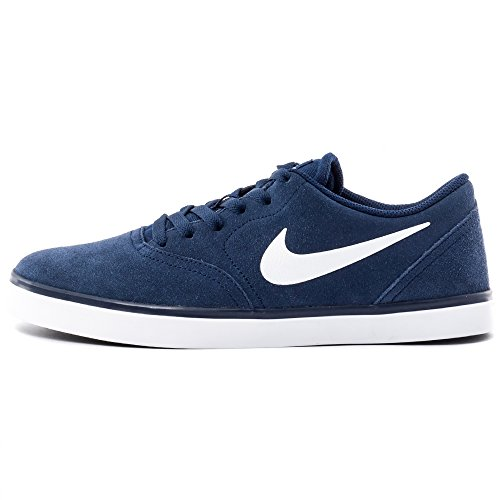 NIKE Baskets SB Check, Couleur : Bleu Bleu - Bleu