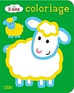 Coloriages pour les tout-petits - Les animaux de la ferme - Dès 2 ans de Carole Wey