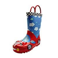 Boys Racer Car Wellies - Puddle Boots