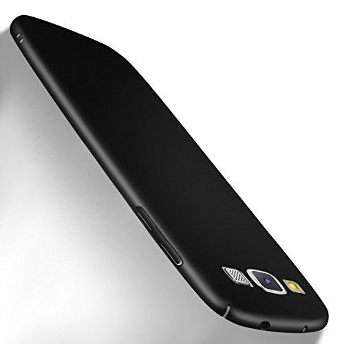MoEx Samsung Galaxy S3   Hülle Schwarz OneFlow Alpha Back-Cover TPU Schutzhülle Dünn Handyhülle für Samsung Galaxy S3 / S III Neo Case Ultra-Slim Thin Skin Handy Schutz Rückseite